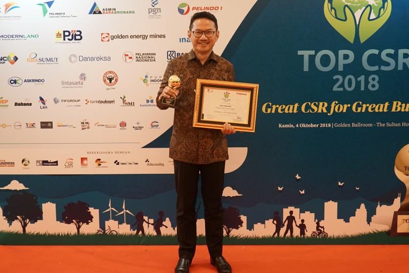 Cirebon Power Sukses Menyabet 2 Award Top CSR 2018